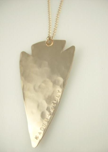Arrowhead Necklace - James Michelle