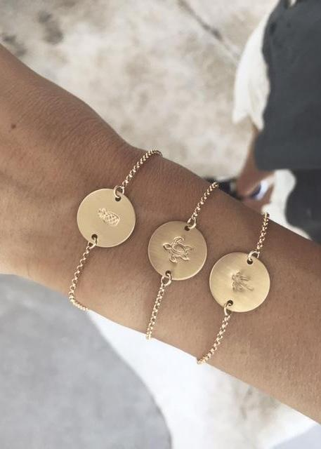 Coin Bracelet - Symbol - James Michelle