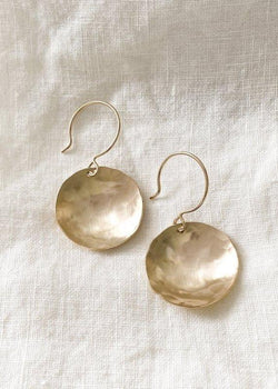 Coin Earrings - James Michelle
