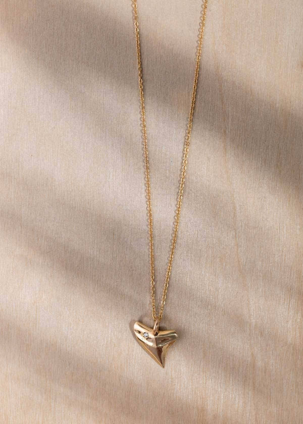 Diamond Jaws Necklace - James Michelle