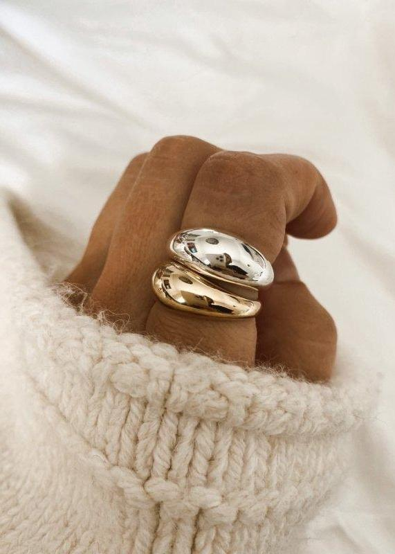Dome Ring - James Michelle