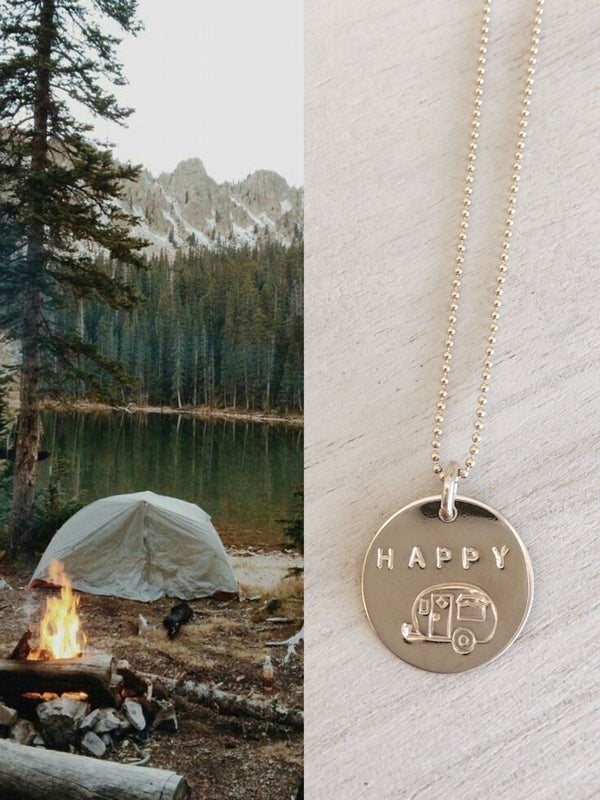 Happy Camper Necklace - James Michelle