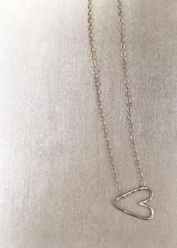 Itty Bitty Heart Necklace - James Michelle