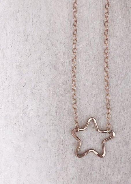 Itty Bitty Star Necklace - James Michelle