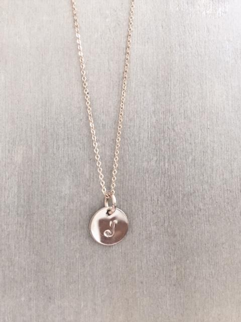 Mini Initial Necklace - James Michelle