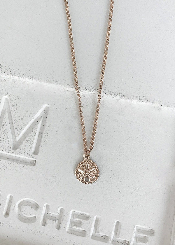 Mini Sand Dollar Necklace - James Michelle