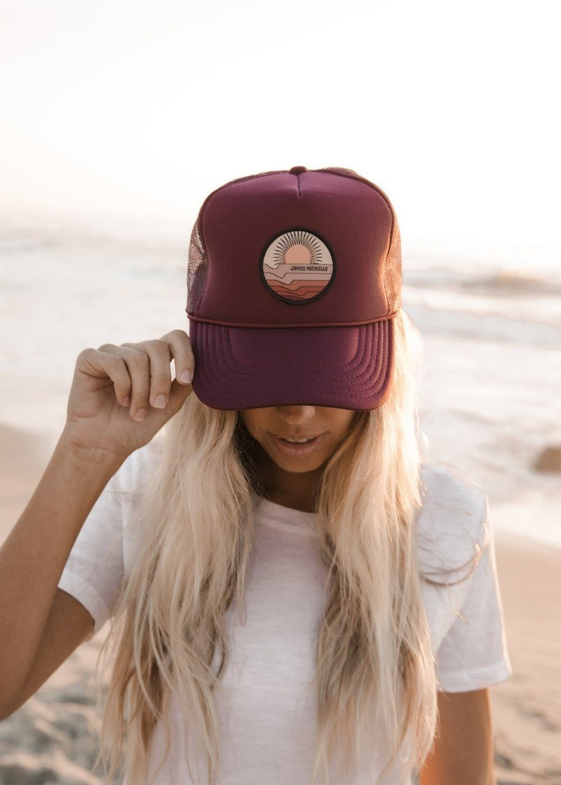 SUNSET HAT - James Michelle
