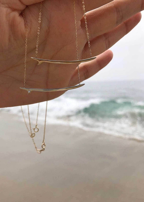 Surfboard Necklace - James Michelle
