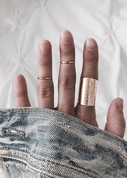Textured Cuff Ring - James Michelle