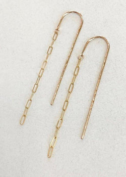 Threader Earrings - James Michelle