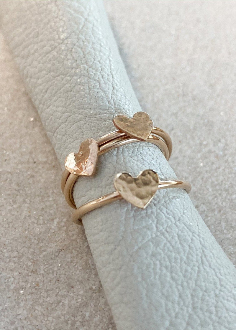 Tiny Heart Stacking Ring - James Michelle
