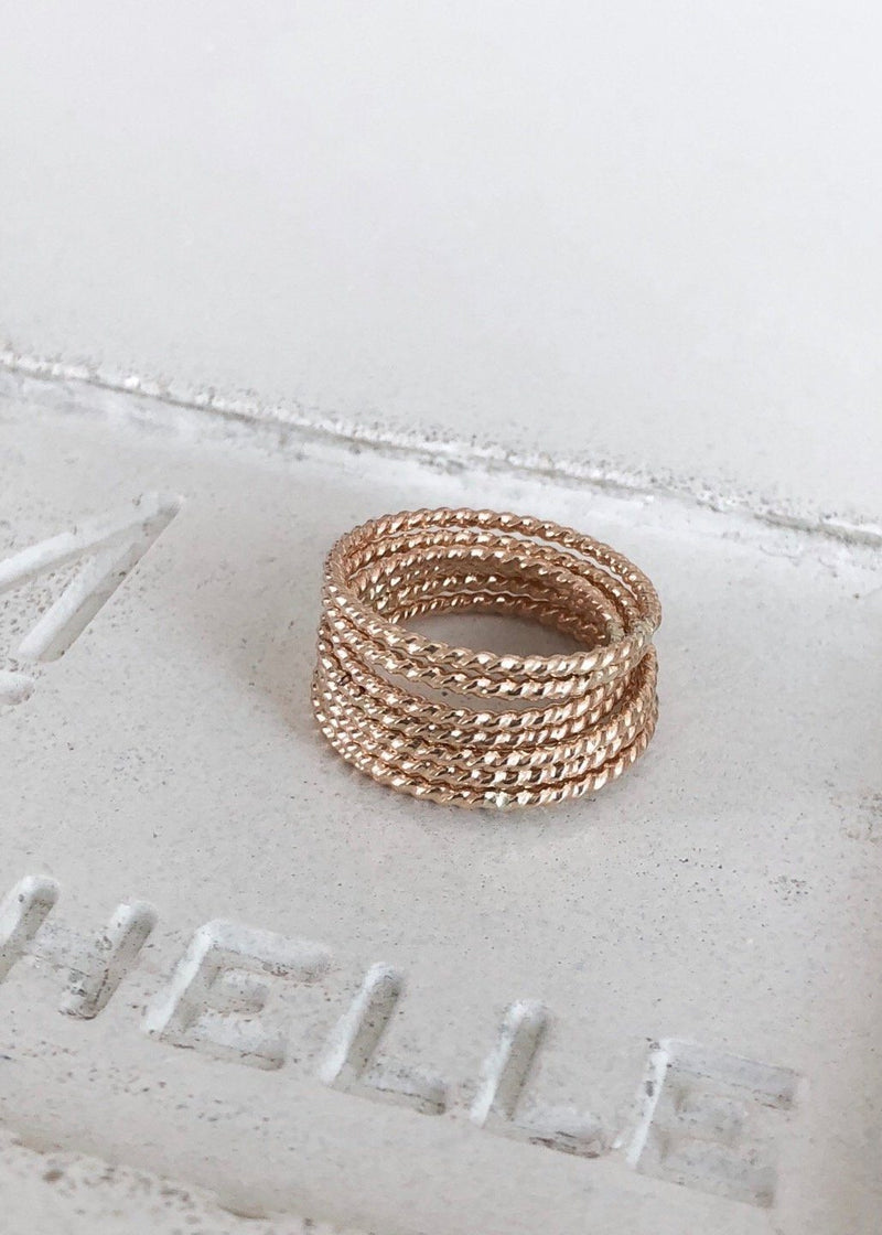 Twist Wire Ring - James Michelle