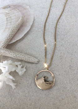Yin Little Wave Necklace - James Michelle