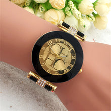 Load image into Gallery viewer, Fashion Preaty Casual Quartz Watch Women Crystal Silicone Watches Dress Watch