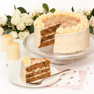 "Large Carrot Cake. 9"" Triple layer."