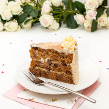"Load image into Gallery viewer, Large Carrot Cake. 9"" Triple layer."