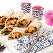 Load image into Gallery viewer, Vegan-Chicken and Salad Wrap Platter