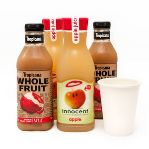 Vegan Catering Drinks Options: Apple Juice