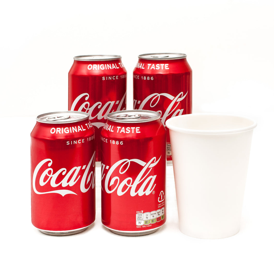 Vegan Catering Drinks Options: Coca Cola