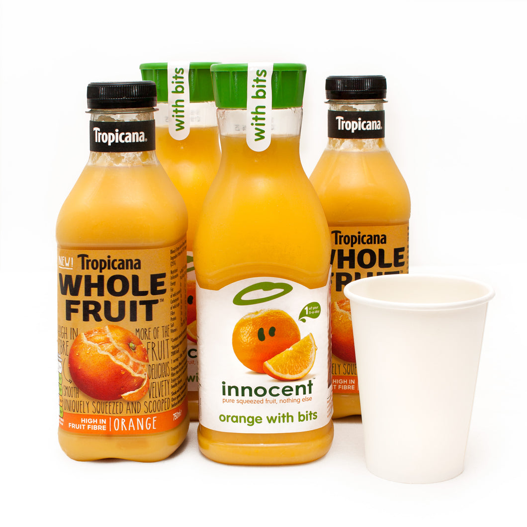 Vegan Catering Drinks Options: Orange Juice
