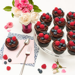 Fresh Berries Cupcakes
