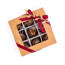 Load image into Gallery viewer, Box Of Vegan Gluten-Free Hand-Made Hot Spicy Gourmet Truffle Chocolates