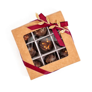 Box Of Vegan Gluten-Free Hand-Made Hot Spicy Gourmet Truffle Chocolates