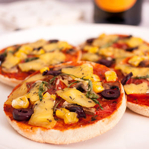 Mini Ortolana Pizzas