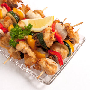 Vegan-Chicken Skewers