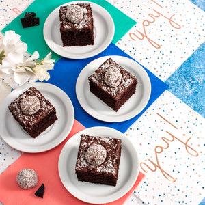 Chocolate and Coconut Truffle Cake