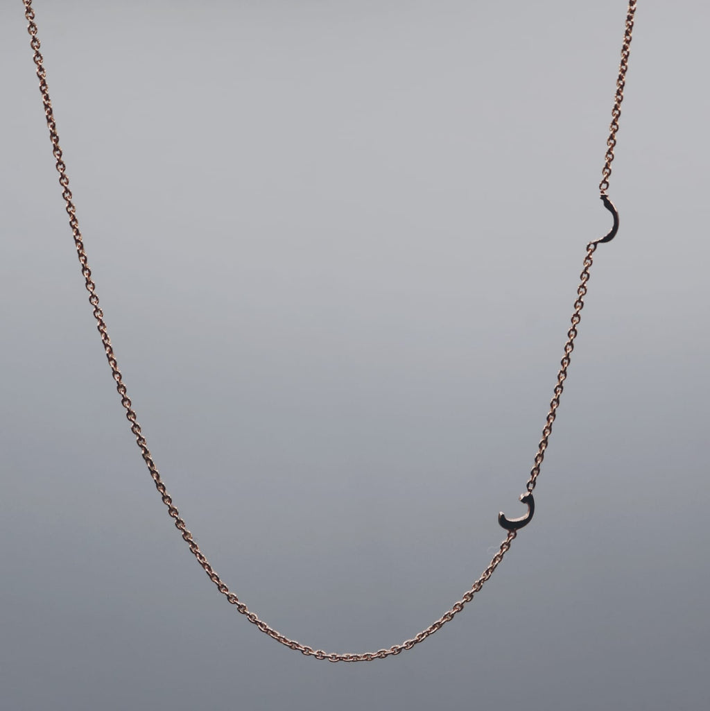 Elif Moments Range - 2 Arabic Letter Necklace