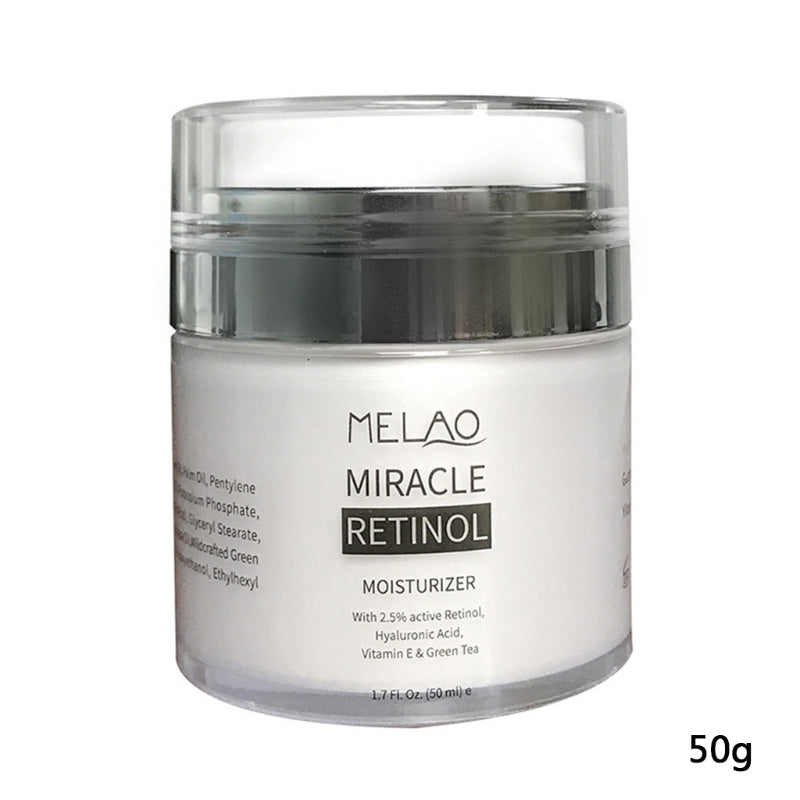 1 Pc / 50g Organic Retinol Moisturizing Face Cream Vitamin C Whitening Anti Aging Wrinkles High Quality  Face Cream