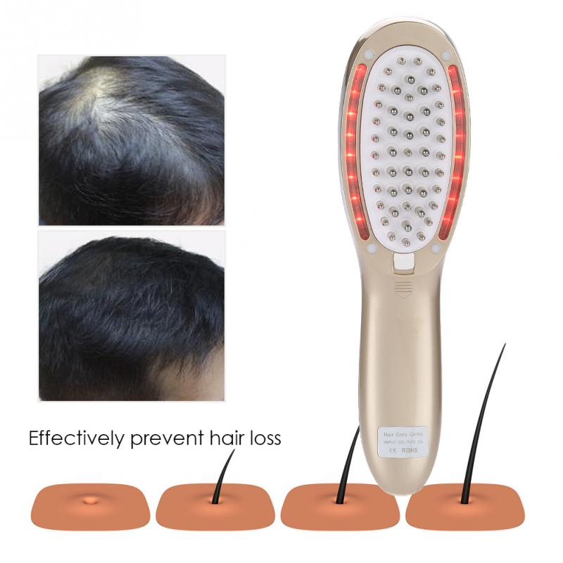 Electric Scalp Photon Ion Massage Comb Hair Growth Device Hair Stimulating Massager Hair Massage Comb Brush