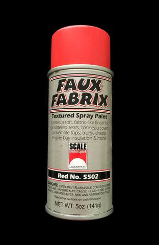 Faux Fabrix Textured Spray Paint Sku#: 5502