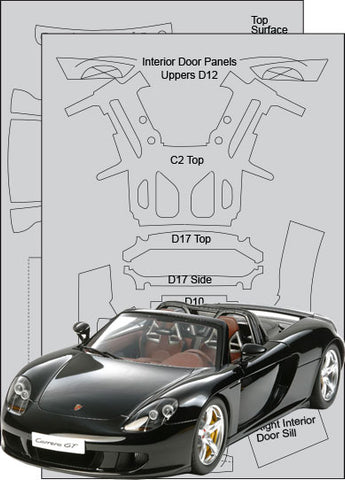Porsche Carrera GT CFT Set Sku#: 7018