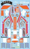 Wynn's/Keating Le Mans Livery Waterslide Decal Sheet Sku#: 2061