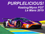 Wynn's/Keating #85 Ford GT Purplelucious Sku#: 5515