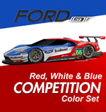 Ford GT Red-White-Blue Set Sku#: 5513