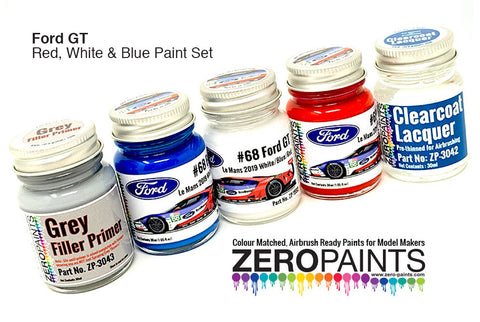 Ford GT Le Mans 5 Bottle Zero Paint Set
