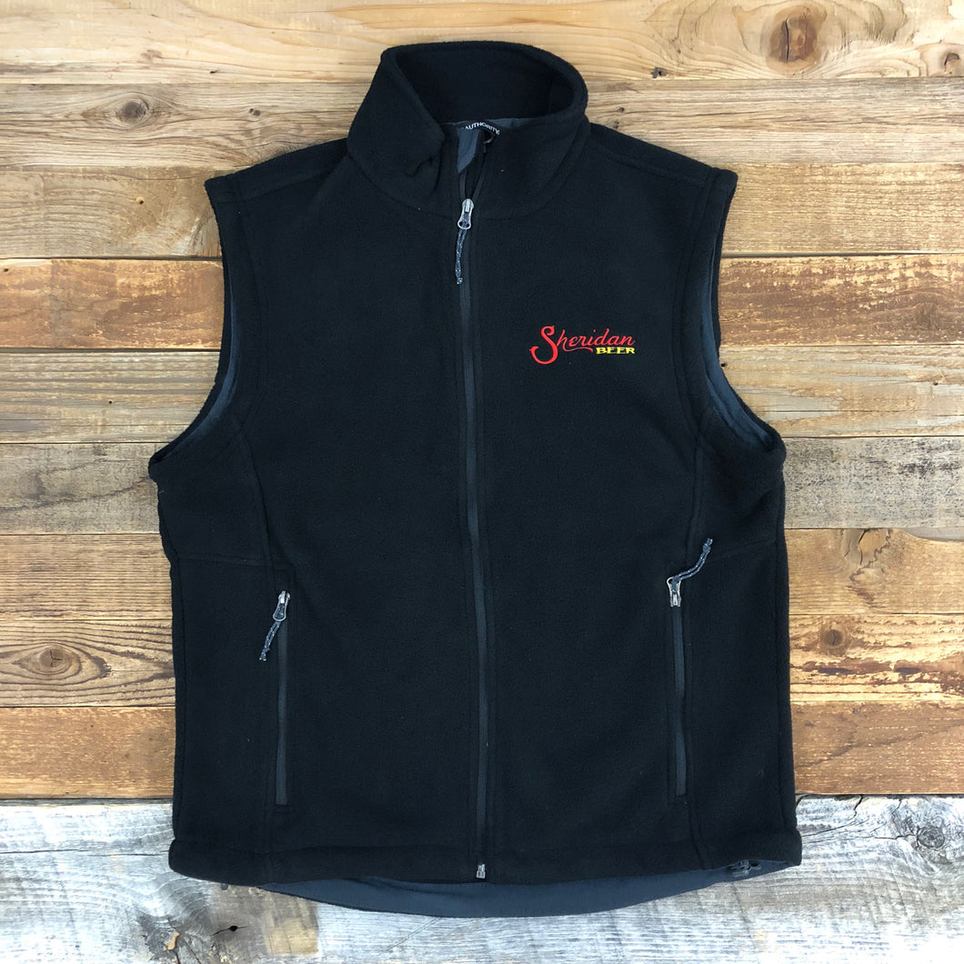 SB Fleece Vest - Black