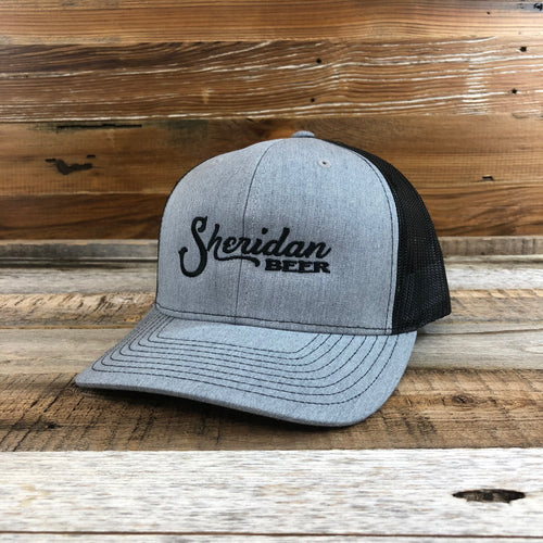 Sheridan Beer Trucker Hat - Heather Grey/Black