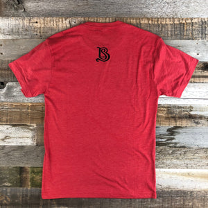 Men's Sheridan Beer Tee - Vintage Red