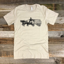 Load image into Gallery viewer, Men's Sheridan Beer Wagon Tee - Sand