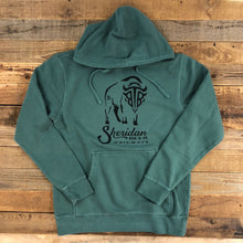 Load image into Gallery viewer, Black Tooth Brewery Collaboration Hoodie - Alpine Green