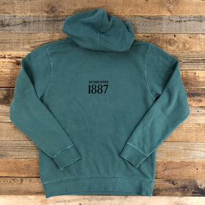 Black Tooth Brewery Collaboration Hoodie - Alpine Green