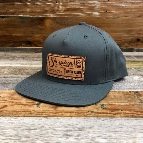 SB Co-Brand Flat Bill Hat - Grey