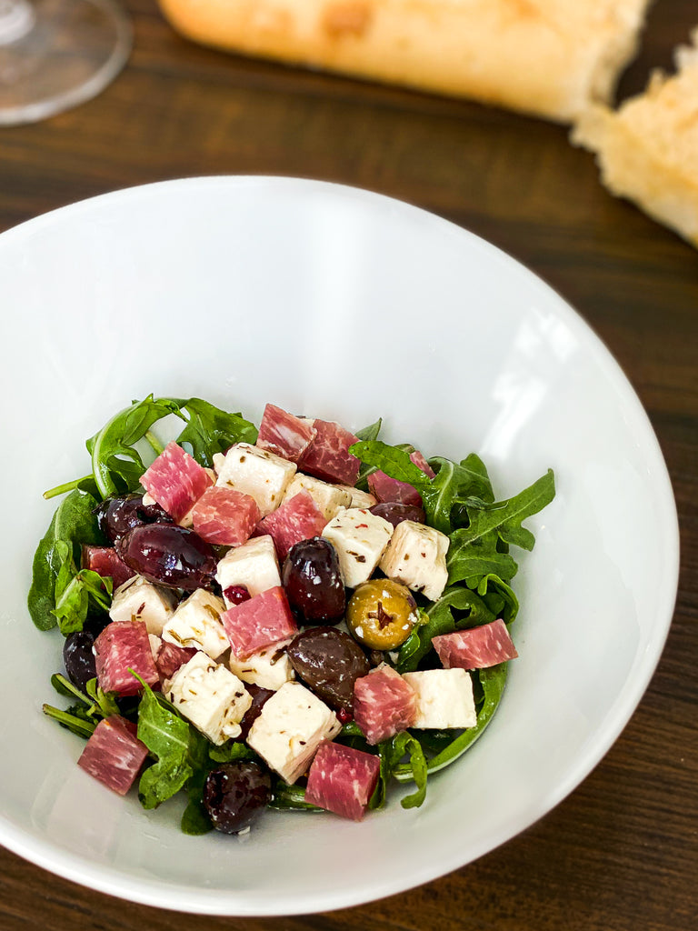 Marinated Olives & Loin Salad