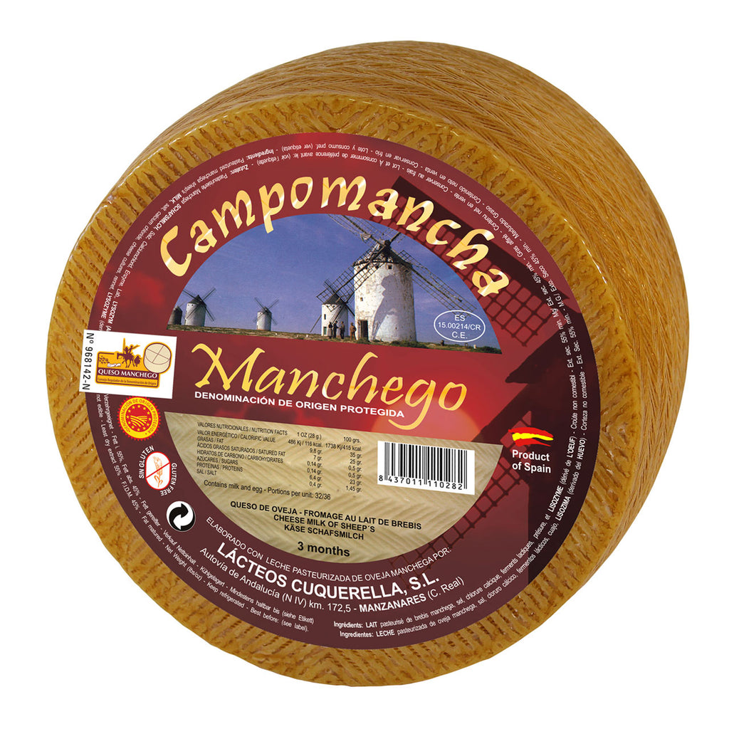 Manchego Cheese by Campomancha | Queso Manchego by Campomancha