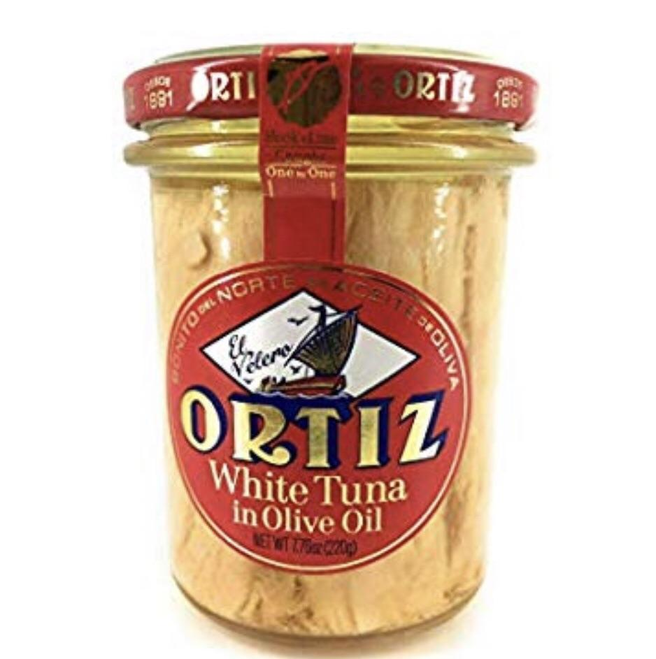 "White Tuna in Olive Oil ""Ortiz Bonito del Norte"""