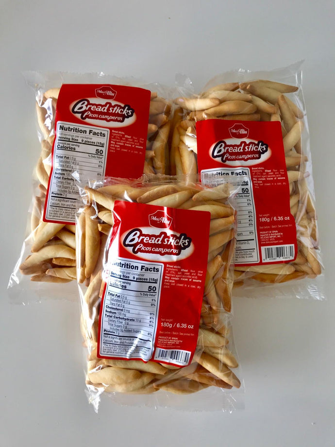 Picos Bread Sticks - Picos Camperos by Mas Aliu